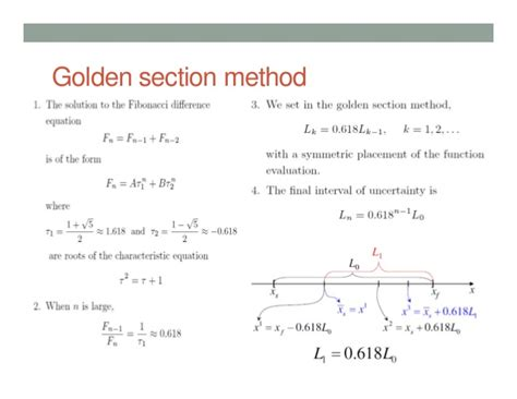 golden section search method lecture7