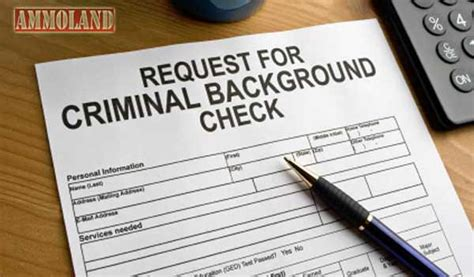 With No Criminal Background Check Ammoland Feed Va S Mcauliff No Criminal Checks For Employees More Background Checks