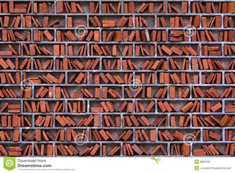 what are walls made of artistic library wall made of brick stock photography