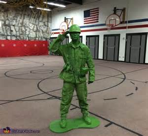 Green Building Ideas plastic toy soldier costume photo 2 3