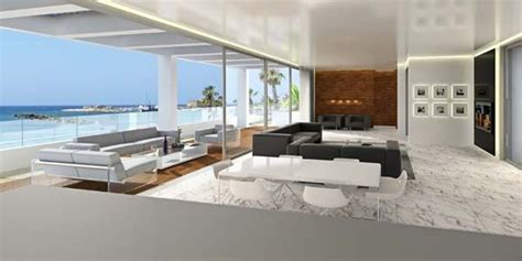 modern penthouses modern beachfront penthouses in paphos cyprus