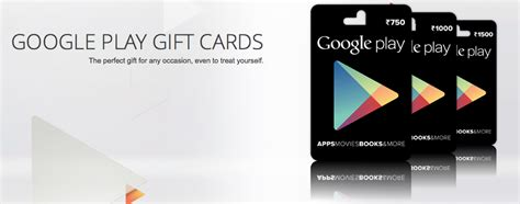Buy Google Play Gift Card India Online - google play gift cards now available in india