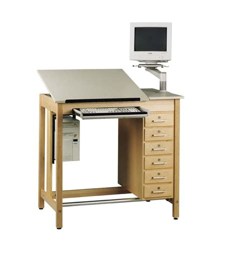 Drawing Table With Drawers by Drawing Table System With Drawers