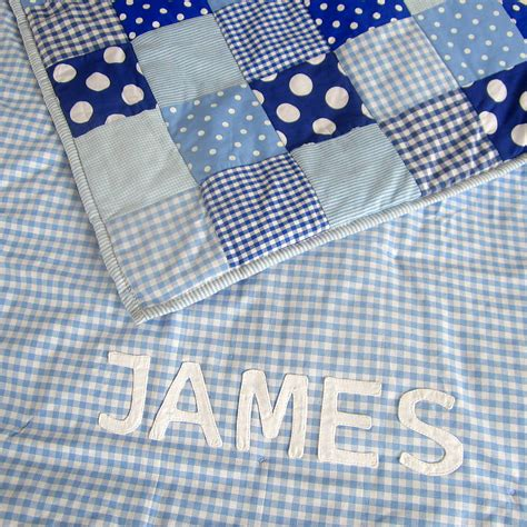 Handmade Quilts For Sale Canada - patchwork quilt personalised and boys by the