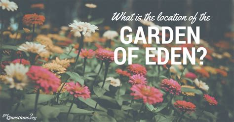 Garden Answer Location What Is The Location Of The Garden Of