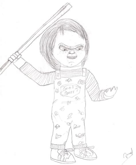 chucky the killer doll coloring pages coloring pages