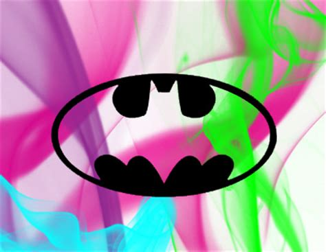 batman wallpaper pink batman logo 2 by pink gunnz on deviantart