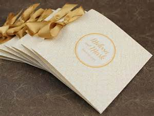 wedding booklet templates 70 s glam gold program booklet diy project featured on ruffled
