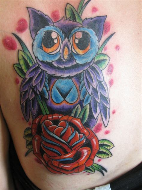 owl cover up tattoos cover up owl by dannewsome on deviantart