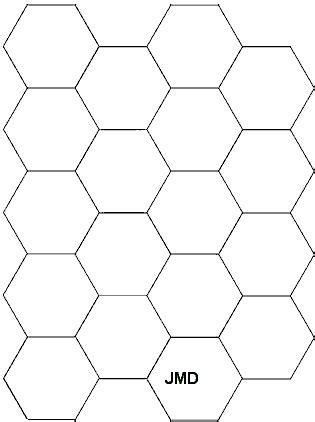 quilting hexagon templates free printable hexagon template and paper piecing