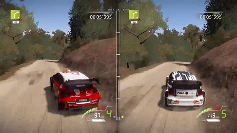 Ps4 Wrc 7 The Official wrc 7 wrc fia world rally chionship 7 split screen ps4 gameplay