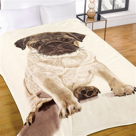 animal in bed luxury warm soft large mink faux fur pug dog sofa bed