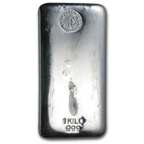 1 kilo silver bar perth mint kilo 32 15 oz silver - 1 Kilo Silver Bar Perth Mint