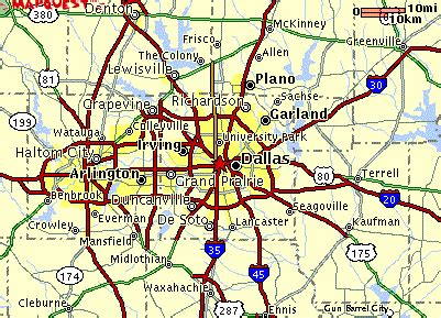 map of dallas texas and surrounding area tour of dallas map of dallas