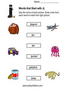 color that starts with the letter j collections of j worksheets for preschool easy