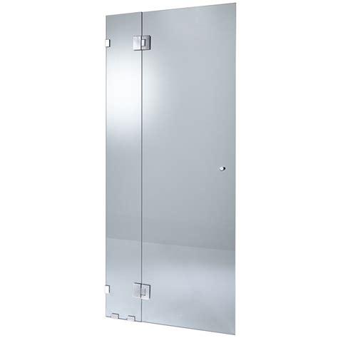 Highgrove 10 X 2000 X 865mm Shower Door Kit Frameless Glass Glass Shower Door Kit