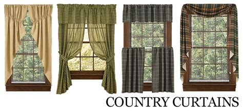 Country style curtains country kitchen curtains primitive country