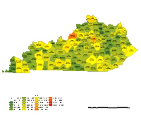 kentucky demographic map editable kentucky county populations map illustrator
