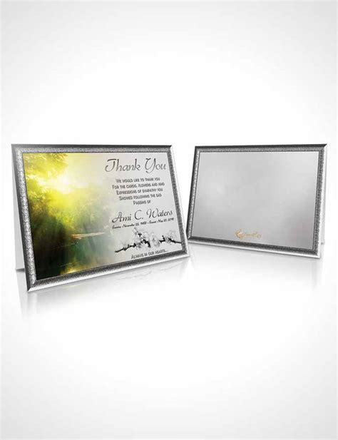 forest service business card template thank you card template forest river black and white