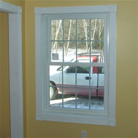 sample colonial style fluted window door trim