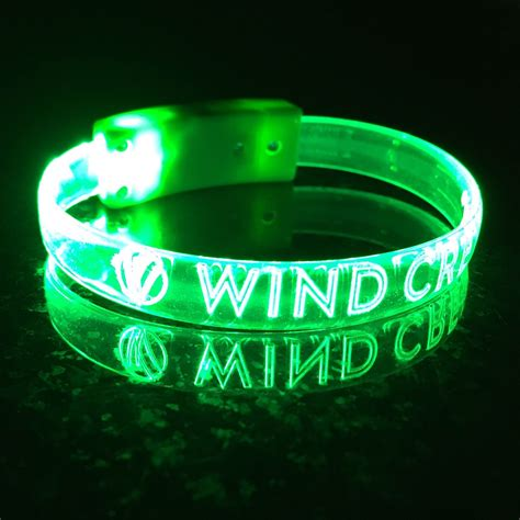 banded glow in the wrist band spectrum merchandising