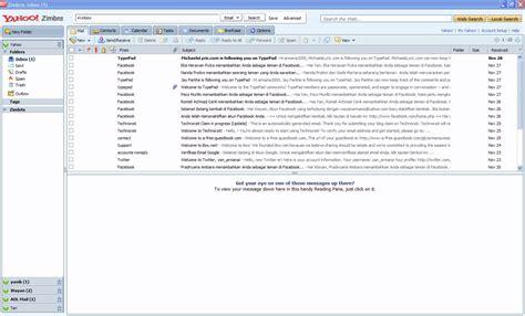 yahoo zimbra email yahoo zimbra desktop email client dengan banyak fitur