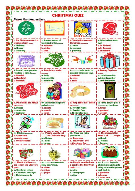 new year 2015 trivia questions and answers quiz worksheet free esl printable worksheets