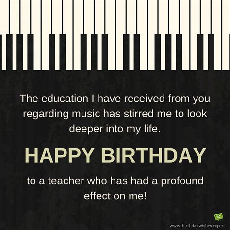 Wishing Happy Birthday Happy Birthday Teacher Wishes For Professors Instructors