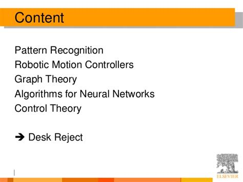 pattern recognition theory janeway top 10 ways to get your paper rejected at cagjournal