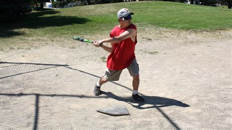 swing blind beep baseball a homerun with blind players wlrn