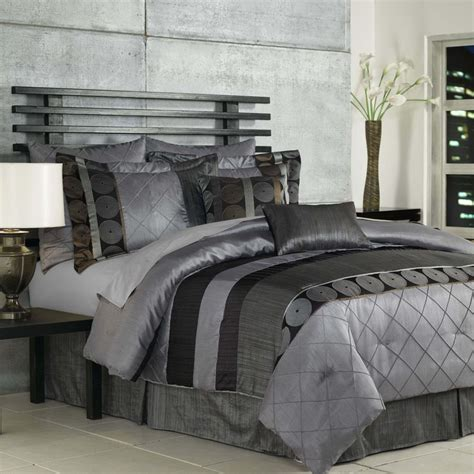 Dark Grey Linen Duvet Cover King Size Comforters Set Decorlinen Com