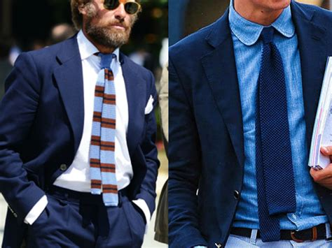 how to wear knit ties how to wear a knitted tie hommestyler