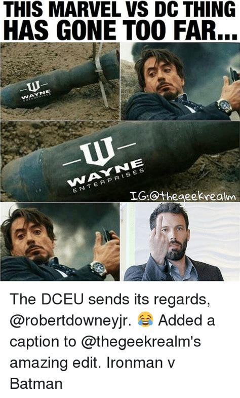 Dc Memes - 25 best memes about marvel vs dc marvel vs dc memes