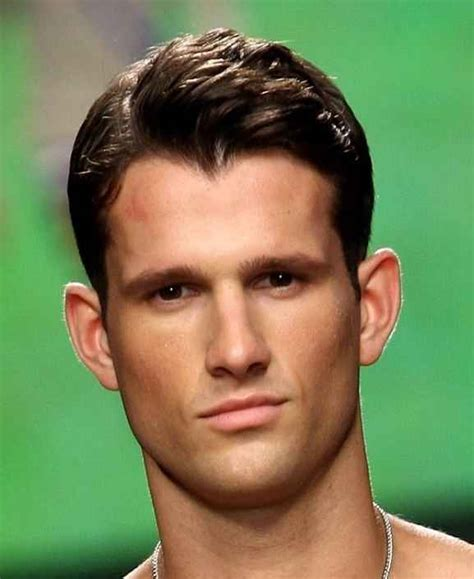 hairstyles for diamond face male male hair styles for diamond shaped
