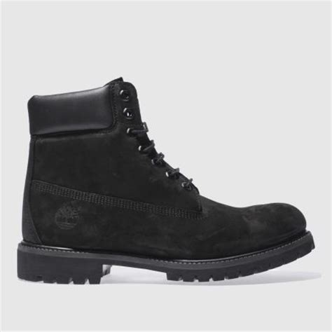 mens black timberland 6 inch premium boots schuh
