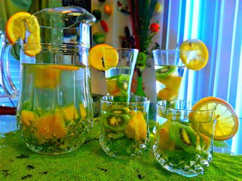 Pineapple Lemon Detox Water by Kiwi Pineapple Lemon Detox Water Omgies