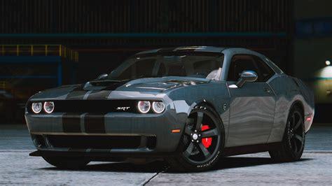 Dodge Challenger Interior Mods by 2015 Dodge Challenger Stock Shaker Hellcat Gta5