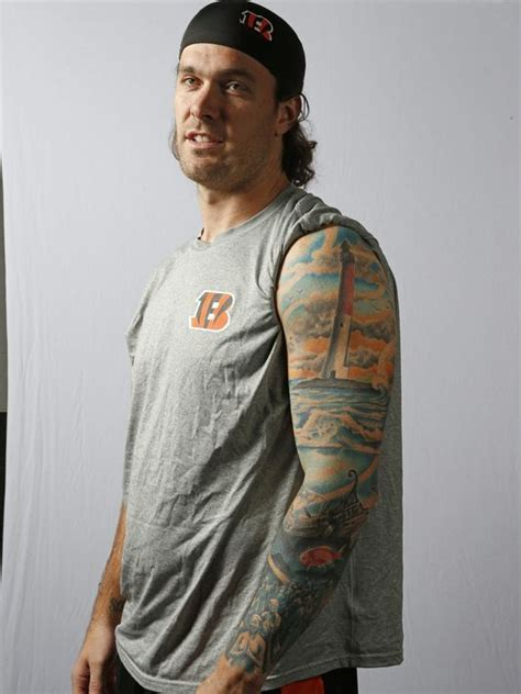 bengals tattoo bengals ink clark harris talks his tattoos