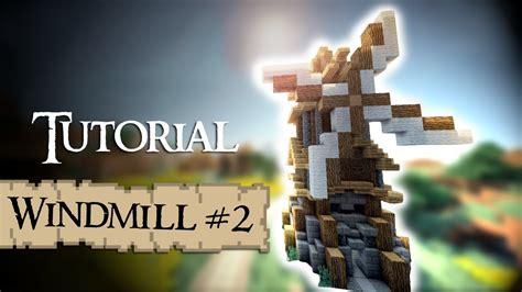 tutorial windmill youtube minecraft tutorial medieval windmill version 2 youtube