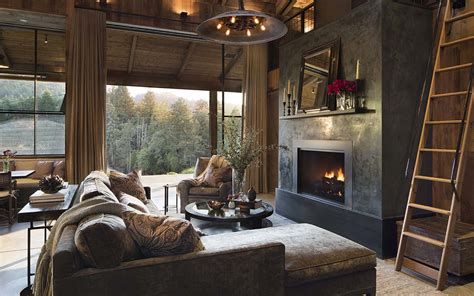 napa home decor small woodsy cabin features a cozy farmhouse style in napa