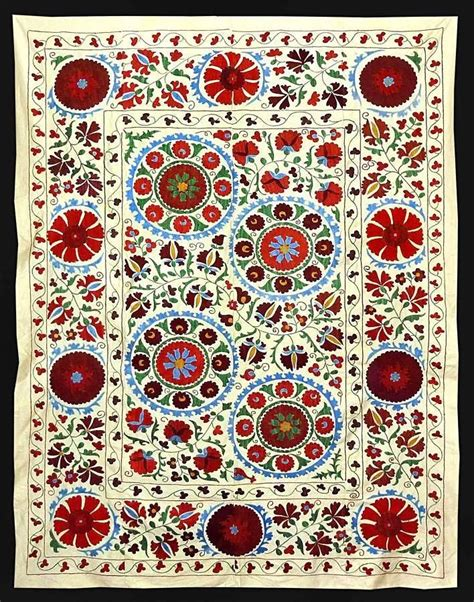 uzbek hand embroidered silk suzani one kings lane 164 best images about suzani on pinterest hand