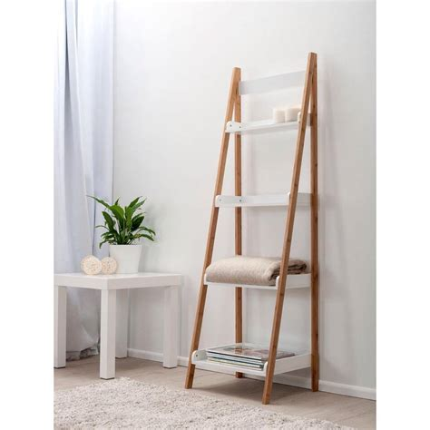 bookcase with ladder ikea stepping it up in style 50 ladder shelves and display