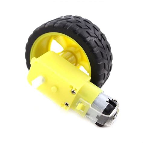 Roda Robot Arduino jual motor gear dan roda robot arduino