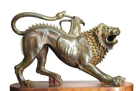mythology statues chimera statue mythical creatures wallpaper