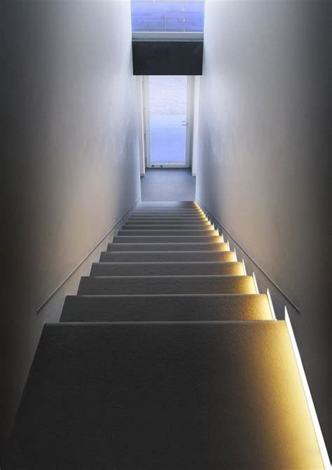 Wall Mounted Stairs Led Wall Mounted Stair Light Runner By Simes Simes Luce