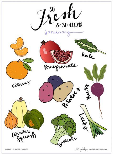vegetables in season in january garlic my soul january produce what s in season