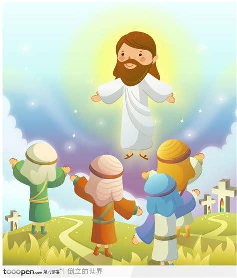 imagenes de jesus resucitado animadas 人间显灵的上帝 素材公社 tooopen com