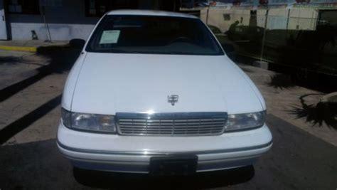 sell   chevrolet caprice classic sedan  door   san diego california united states