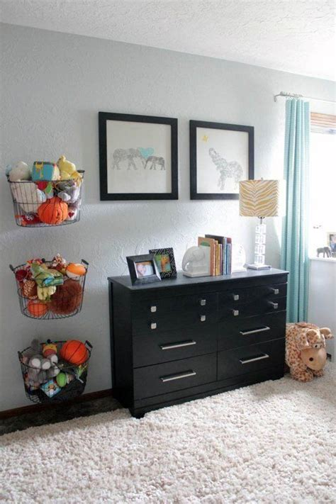 space saving kids rooms wall storage ideas shelterness