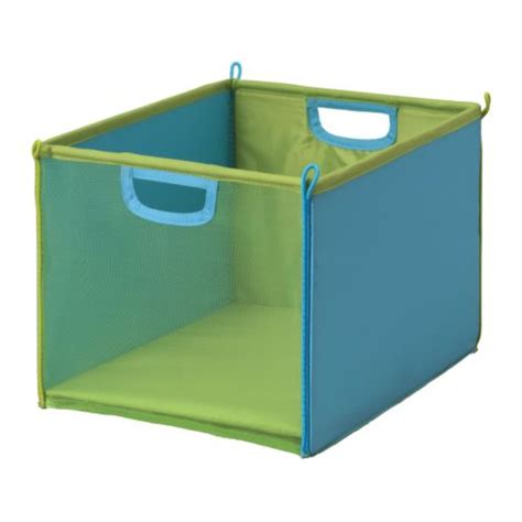 ikea storage bins kusiner box green turquoise ikea